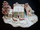 First Snow At Bluebell Lilliput Lane Cottage