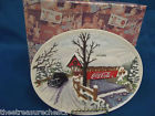 Coca-Cola Plates Lilliput Lane Cottages