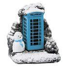 Mini Blue Splash Phone Box Lilliput Lane Cottage