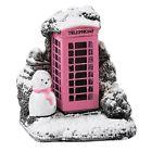 Mini Pink Splash Phone Box Lilliput Lane Cottage