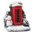 Mini Red Splash Phone Box Lilliput Lane Cottage