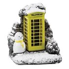 Mini Yellow Splash Phone Box Lilliput Lane Cottage