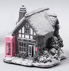 Pink Splash Post Office Lilliput Lane Cottage