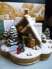 We Wish You A Merry Christmas Lilliput Lane Cottage
